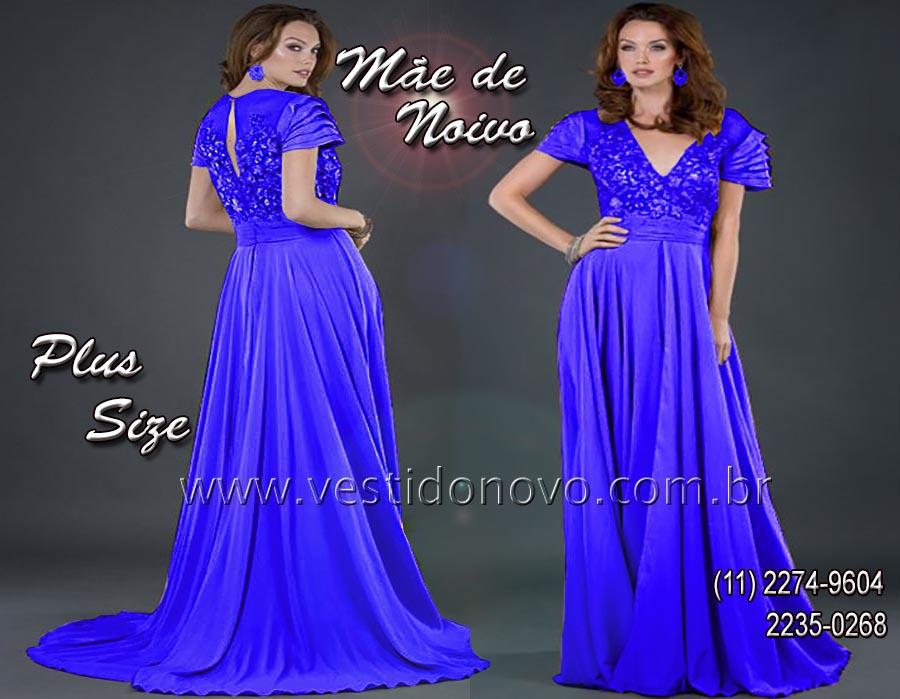 1d1759abb13e4 vestido azul, Vestido de festa longo, mãe do noivo, madrinha de casamento,